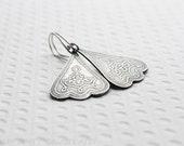 Amelia -Silver earrings - sterling silver dangle earrings by Serendipity