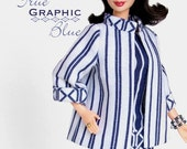 """Sewing pattern for 11 1/2"""" doll (Barbie): A-line Jacket"""
