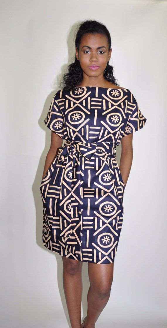 African Print Dress The Paige
