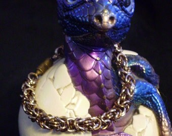 Byzantine chainmaiille bracelet