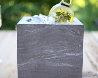Concrete Wine Chiller or Planter