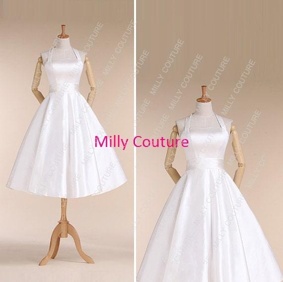 robe de mariée, robe de mariée de style années 50, robe de ...