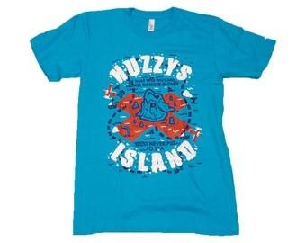 Huzzys Island T Shirt