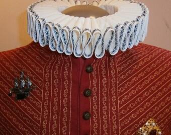 Renaissance Collar, Elizabethan Ruff