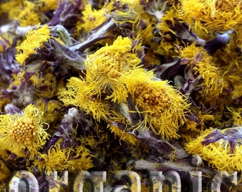 Coltsfoot. Dried. Organic herbal tea. Cold tea. 40g