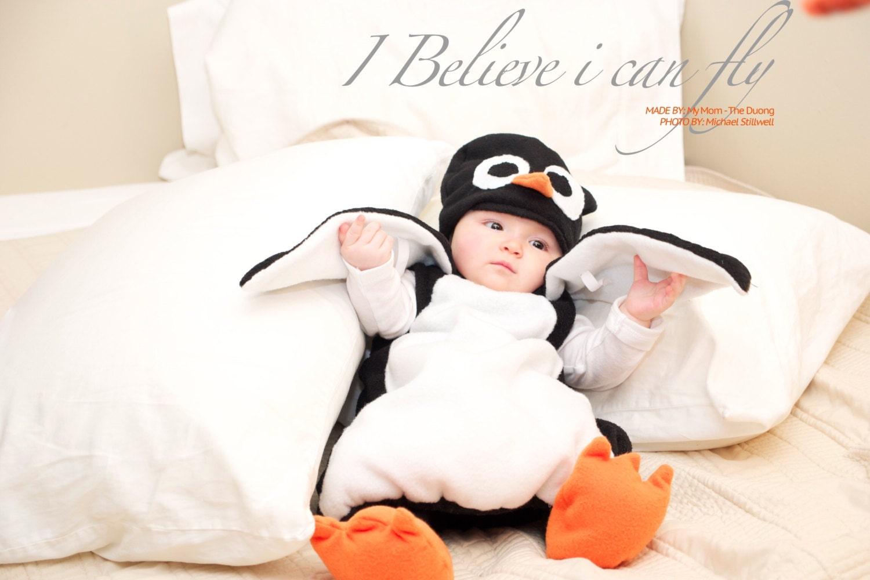 Baby Penguin Costume Penguin Costume Kid's Costume by ...