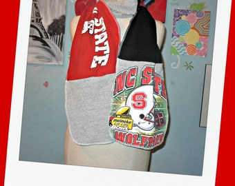 Football Scarf Recycled Tshirts Unisex Great gift State