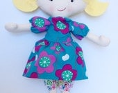Cloth, Rag, Fabric Doll - Flora - LittleLuckies2
