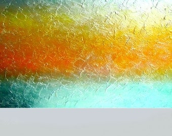 Large MODERN ABSTRACT painting made to order textured acrylic metallic contemporary painting fine art Light Wave by Carol Lee aka Leearte