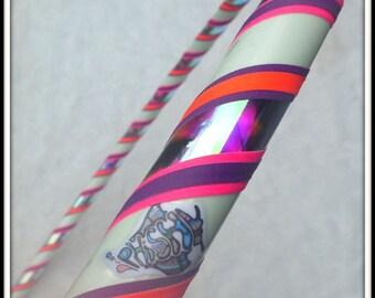 NeW - Custom PHISH Travel Hoop - 'DiViDED SKY' - GLoW In The DaRK & UV Reactive. Made in Your Favorite Colors