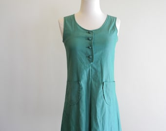 Official 50s / 60s Girl Scouts green uniform sz. XS / Small