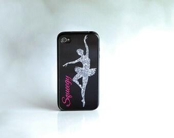 Dancer iPhone Case + Pink Monogram iPhone Case + Ballerina iPhone Case iPhone 6 Case, iPhone 6 Plus, 6+ Case