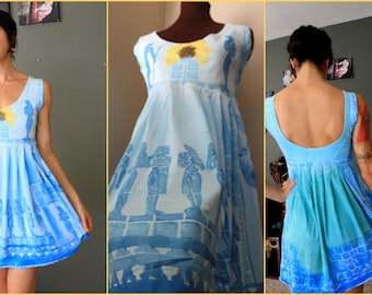 Handmade / Handpainted Egyptian Sundress