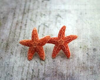 Starfish Earrings Starfish Studs Starfish Jewelry Beach Wedding Mermaid Stud Earrings Mermaid Jewelry Nautical Earrings Nautical Jewelry 091