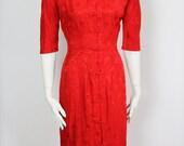 Gorgeous 1950s Japanese Silk Dress