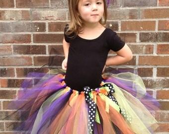 Playful Witch Costume - Tutu Set - Size 12M thru Size 5T