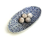 Blue And White Bowl , Fruit Bowl ,Home And Living , Hostess Gift