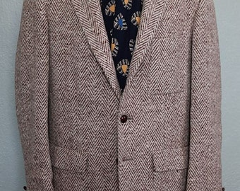 Late-1950s herringbone tweed sports coat