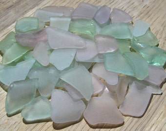 Bulk Sea Glass -  Purple, Aqua, Light Blue, Seafoam - DIY Beach Wedding Supplies