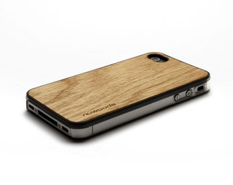 iPhone 4 Case Wood Red Oak, Wood iPhone 4S Case Wood iPhone 4 Case, iPhone 4 Wood Case, iPhone 4S Wood Case, iPhone Case