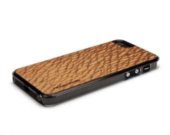 iPhone 5 Case Wood Lacewood, Wood iPhone SE Case, iPhone 5S Case Wood
