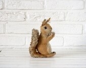 RESERVE LISTING For Kathryn Vintage German 1950s Steiff Stuffed Toy Squirrel