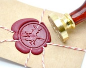 B20 Wax Seal Stamp Halloween Witch