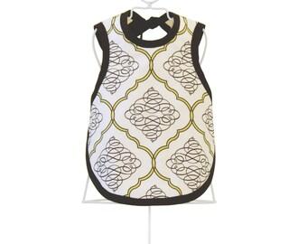 Dress-Up Bib & Burp Cloth - Organic Baby Shower Gift - Photo Prop - POLISHED