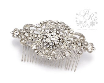 Wedding Hair Comb Rhinestone Hair comb Bridal Hair Comb Hair Accessory Wedding Jewelry Wedding Accessory Bridal Comb Bridal Jewelry Aimee