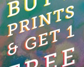 Buy Any Two Art Prints, Get One Free Sale - Discount - Art Deal - Great for Gifts