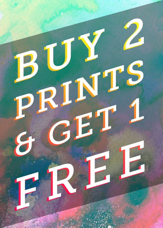 Buy any two art prints get one free sale discount art for Print posters online cheap