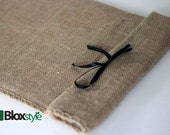 Gift Wrapping for your 11x16 or 9x12 Cutting Board, Burlap Bag with Ribbon