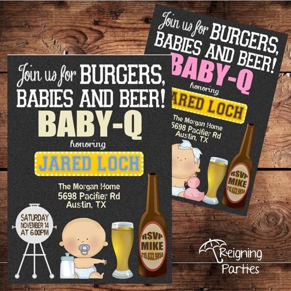 Baby-Q Man Diaper Shower Beer and Diaper Shower Diaper