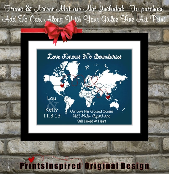 Distance Between Brother And Sister Quotes: Long Distance Relationship Quotes: Travel Map By