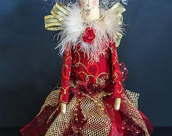 Joy the Whimsical Christmas Angel