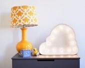 Vintage Inspired Marquee Light- Cloud, home decor, marquee letter, marquee light, letter, vintage, wall art, nursery