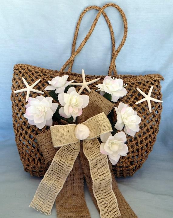 similar to Beach Wedding Gift Card holder Decor Straw Bag_vintage ...