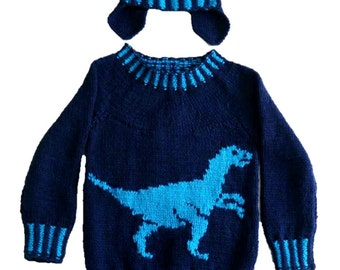 Dinosaur sweater Etsy