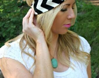 CLEARANCE!  Chevron Turban Twist Headband (MULTIPLE COLORS)