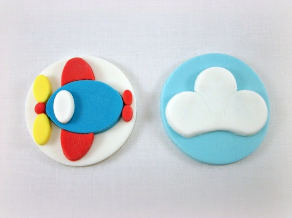 airplane toppers for cupcakes