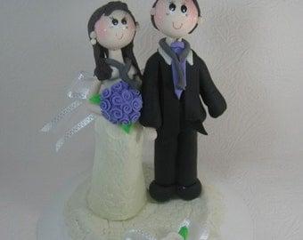 Wedding cake topper, doctors cake topper, custom wedding cake topper, funny wedding cake topper