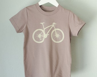 4T MOUNTAIN BIKE TSHIRT toddler bicycle tee 4T