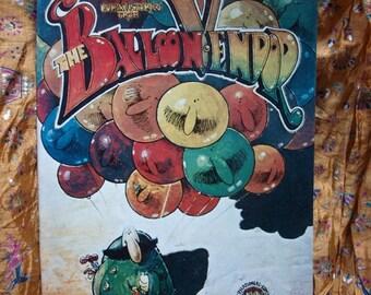 Balloon Vendor Comix 1971 First No 1 Fred Schrier Time Machine Underground Alternative Comic Art