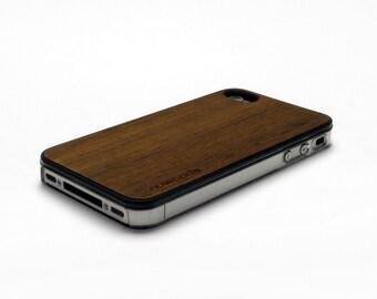 iPhone 4 Case Wood Teak, Wood iPhone 4S Case Wood iPhone 4 Case, iPhone 4 Wood Case, iPhone 4S Wood Case, iPhone Case