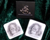 BABY ORANGUTAN ~ Classy Coasters ~ Add Style & Character to Your Home
