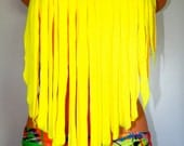 Fringe Tie Up Bikini Top