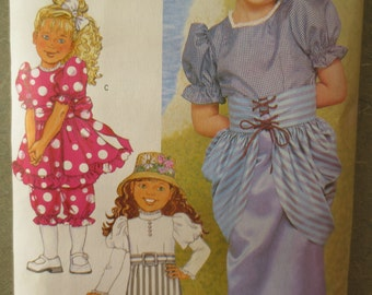 Vintage Butterick 3188 Sewing Pattern, Turn of Century Dress, Costume Pattern, Girl Halloween, Corselet, Bustle Dress, Early 1900s Costume