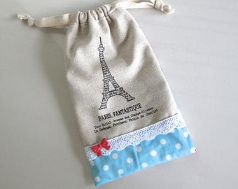 PARIS, FANTASTIQUE Drawstring Bag