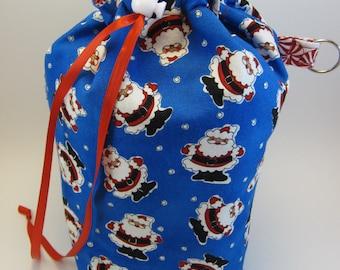 Santa WIP Bag