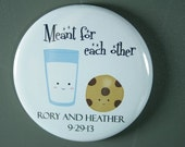 10 Meant for Each Other Bottle Openers, Mirrors or Magnets, Save the Date, Bridal Shower Favors, Wedding Favors, Bachelorette Party Favors